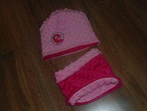 Detské čiapky - Obojstranný detský set - 10140479_