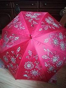 Iné doplnky - Maľovaný dáždnik - 10141599_