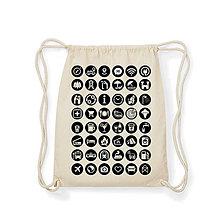 Batohy - Ikonkový ruksak- prírodný - 10137325_