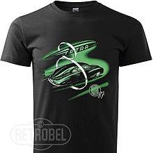 Tričká - Pánske retro tričko TATRA 87 - 10138705_