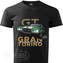 Oblečenie - Pánske retro tričko Gran Torino - Clint Eastwood - 10138996_