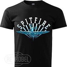 Oblečenie - Pánske letecké tričko Spitfire - 10139237_