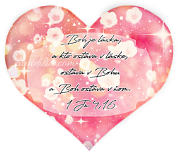Magnetky - Boh je láska ♥ - 10142563_