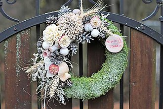 Dekorácie - Vianočný venček- predaný - 10139155_