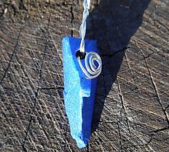 Šperky - king blue lapis lazuli - 10142444_