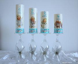 Svietidlá a sviečky - Anjelský advent - 10139403_