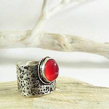 Prstene - Stříbrný prsten Cor - 10142655_