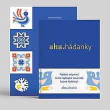 Knihy - aha, hádanky + pexeso - 10138819_