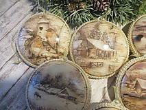 Dekorácie - Vianočné odzoby - 10137502_