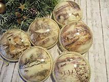 Dekorácie - Vianočné odzoby - 10137515_