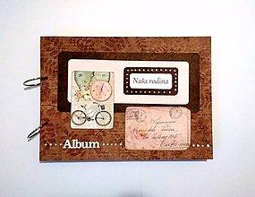 Papiernictvo - Veľký rodinný album A4 - 10141743_