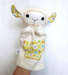 Hračky - Maňuška ovečka - Ovečka zo Žltého panstva - 10137190_