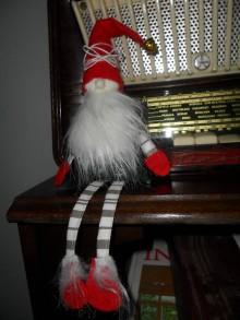 Dekorácie - Vianočný škriatok. - 10139746_