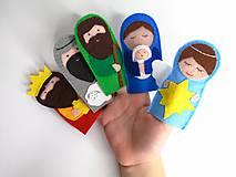 Hračky - Bábky na prsty Betlehem - 10137321_