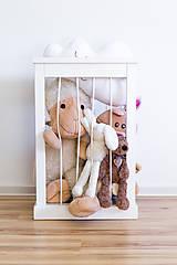 Nábytok - Kôš na hračky - 10137533_