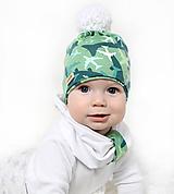 Detské čiapky - Setík s lietadlami - 10139817_