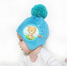 Detské čiapky - Originálna ušianka pre bábätká - 10137080_