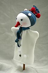 Hračky - Maňuška. Snehuliačik Samko - 10141161_