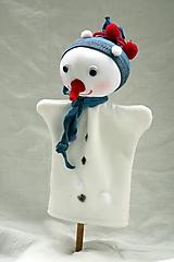 Hračky - Maňuška. Snehuliačik Samko - 10141163_