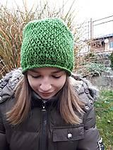 Čiapky - Háčkovaná čiapka, homeleska, pre ženu - 10138979_