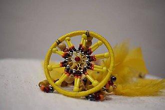 Náhrdelníky - Indiánsky bohémsky náhrdelník - 10137298_