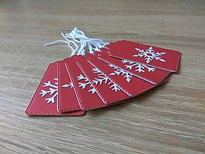 Papiernictvo - Vianočné menovky / Visačky - 10137510_