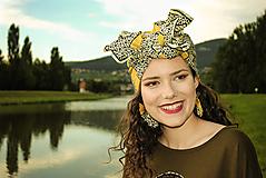 Šatky - Turban/Šatka Odette - 10142540_