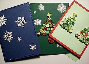 """Papiernictvo - Vianočné pohľadnice ,,Vianočné trio"""" - 10141789_"""