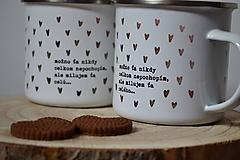 Nádoby - Smalťáčiky - Milujem ťa Celú - 10138153_