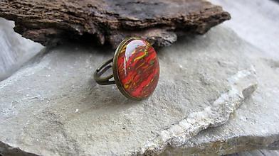 Prstene - Prsteň väčší guľatý (jesenný, č. 2469) - 10141075_
