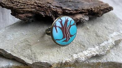 Prstene - Prsteň väčší guľatý (strom č. 2471) - 10141167_