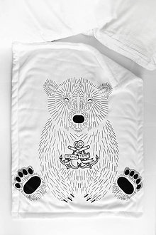 """Textil - Detská deka """"Medveď Ďoďo"""" - 10138339_"""