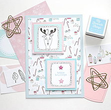 Papiernictvo - Vianočná pohľadnica - 10140714_