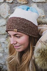 Čiapky - Pletená čiapka - 10138850_