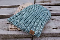 Čiapky - Pletená čiapka - 10138925_