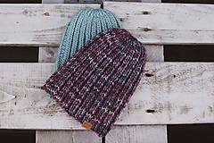 Čiapky - Pletená čiapka - 10138934_