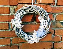 Dekorácie - Vianočný veniec - 10141716_