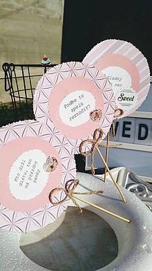 Darčeky pre svadobčanov - Prudko úprimná dekorácia do candy baru - 10141348_
