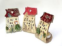 Svietidlá a sviečky - dom svietnik - 10139682_