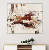 Obrazy - abstraktný obraz, Odraz, 120x100 - 10138292_