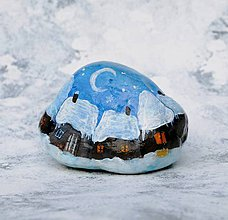 Dekorácie - Maľba na kameni - 10138711_