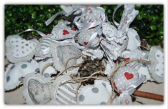 Dekorácie - Vianočné ozdoby - sada č.6 - 10147840_