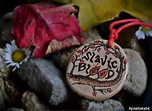 Náhrdelníky - Slavic Blood - 10146578_
