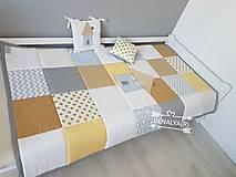 Úžitkový textil - Prehoz 120x205 kolekcia DOMČEK - 10143951_