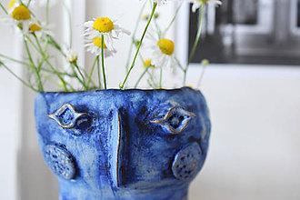 Dekorácie - Váza s kukadlami - 10146147_