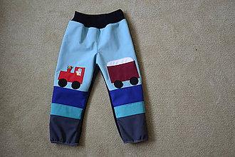 Detské oblečenie - softshellové nohavice - 10147825_