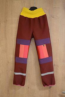Detské oblečenie - softshellové nohavice - 10147829_