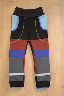 Detské oblečenie - softshellové nohavice - 10147830_