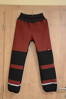 Detské oblečenie - softshellové nohavice - 10147838_