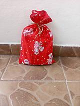 Úžitkový textil - Mikulášske vrecko na sladkosti - 10144424_
